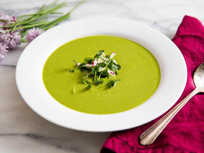 súp ngò tây, nhahangphap.com