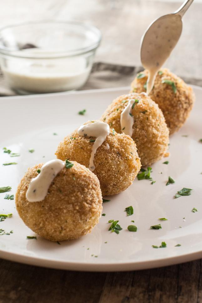 Khoai tây nhồi phô mai, nhahangphap.com