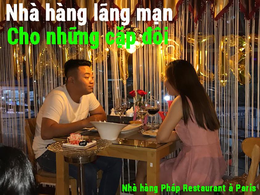 Nhà hàng lãng mạn cho những cặp đôi, nhahangphap.com