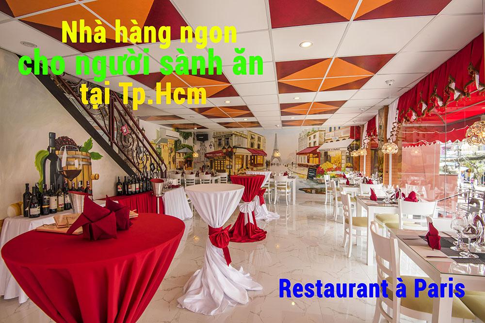 nhà hàng ngon cho người sành ăn tại tphcm, nhahangphap.com